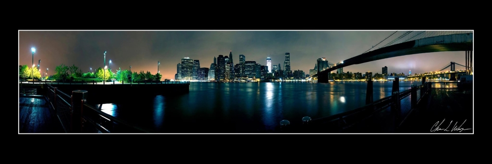 Panorama skyline by Christopher Weihmeyer